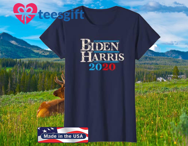 Biden Harris 2020 T-Shirt Vintage Joe Biden Kamala Harris For President 2020 Election Democratic Party Democrat Unisex Jersey Tee