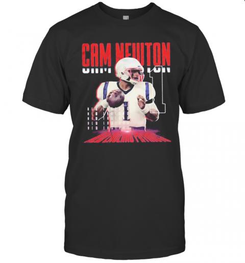 Cam Newton 1 New England Patriots Football T-Shirt Classic Men's T-shirt