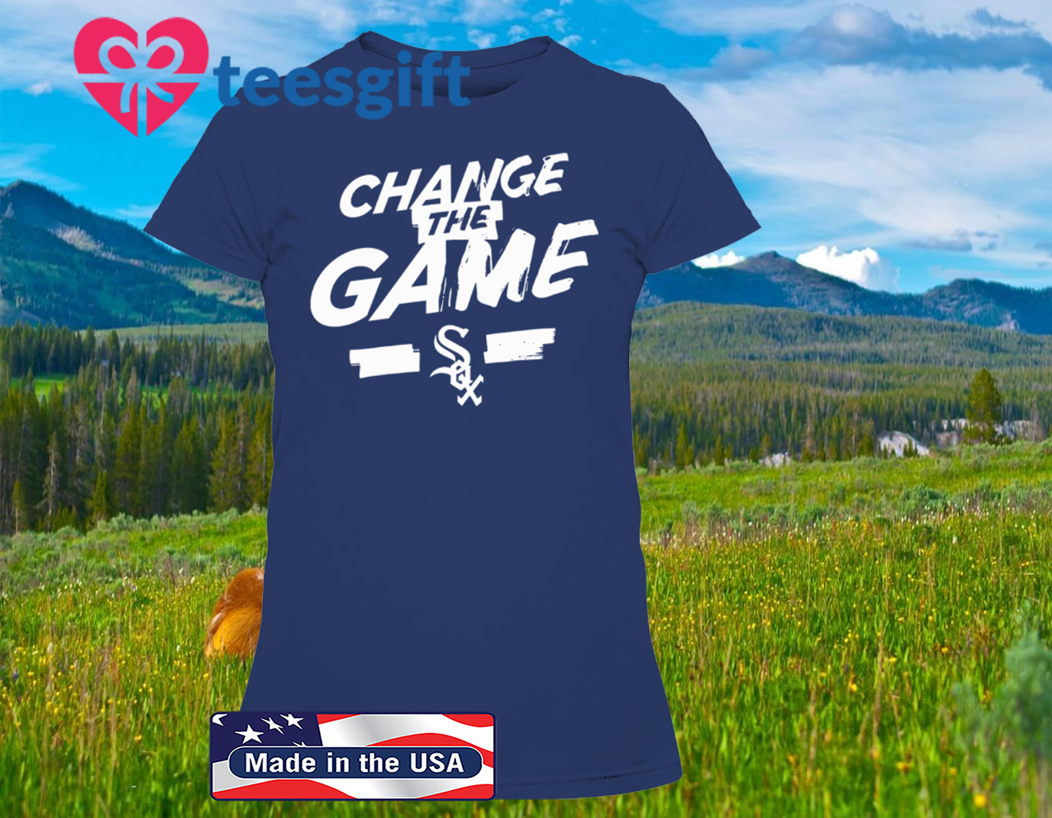Change The Game T-Shirt Chicago White Sox