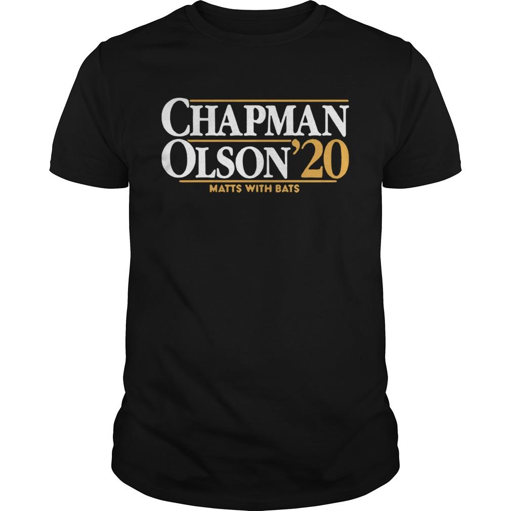 Chapman Olson 2020 Matts With Bats  Unisex