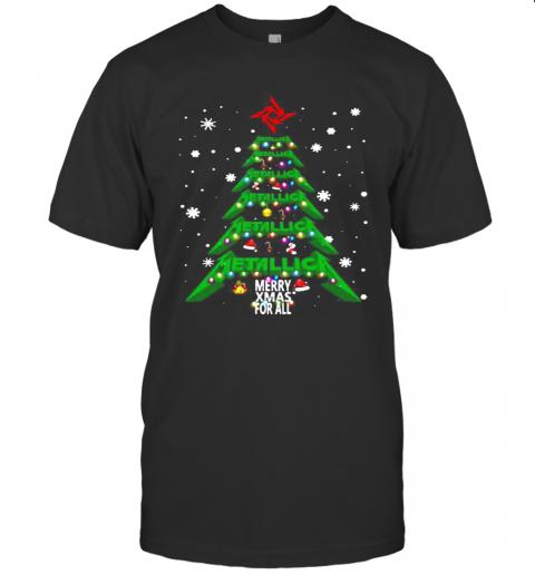 Christmas Tree Metallica Me Xmas For All T-Shirt Classic Men's T-shirt