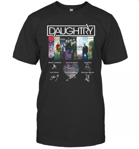 Daughtry Album Signature T-Shirt Classic Men's T-shirt