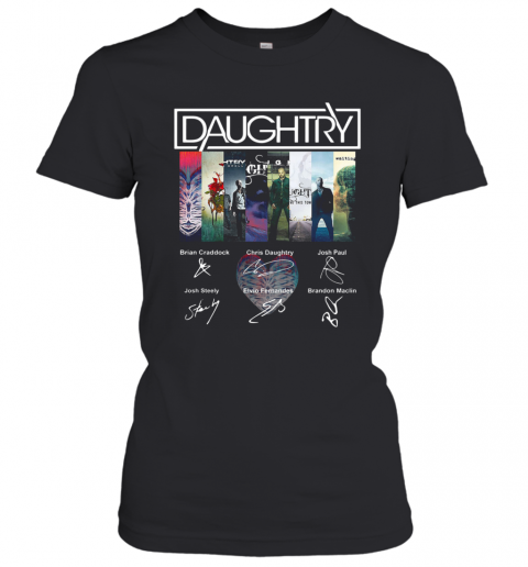 Daughtry Album Signature T-Shirt Classic Women's T-shirt