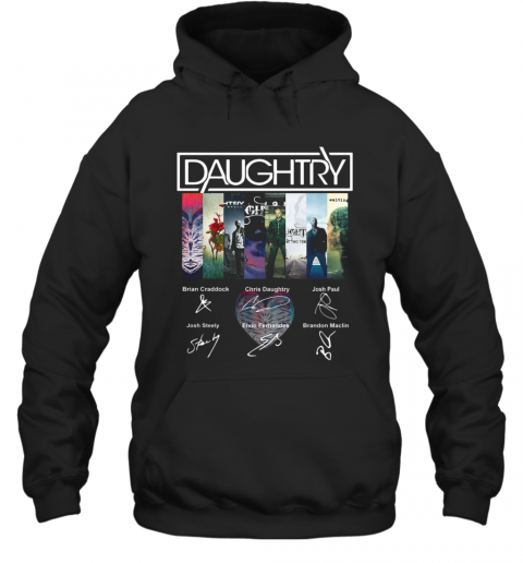Daughtry Album Signature T-Shirt Unisex Hoodie