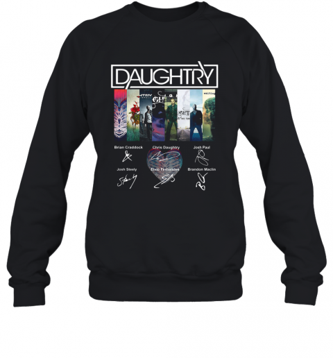 Daughtry Album Signature T-Shirt Unisex Sweatshirt