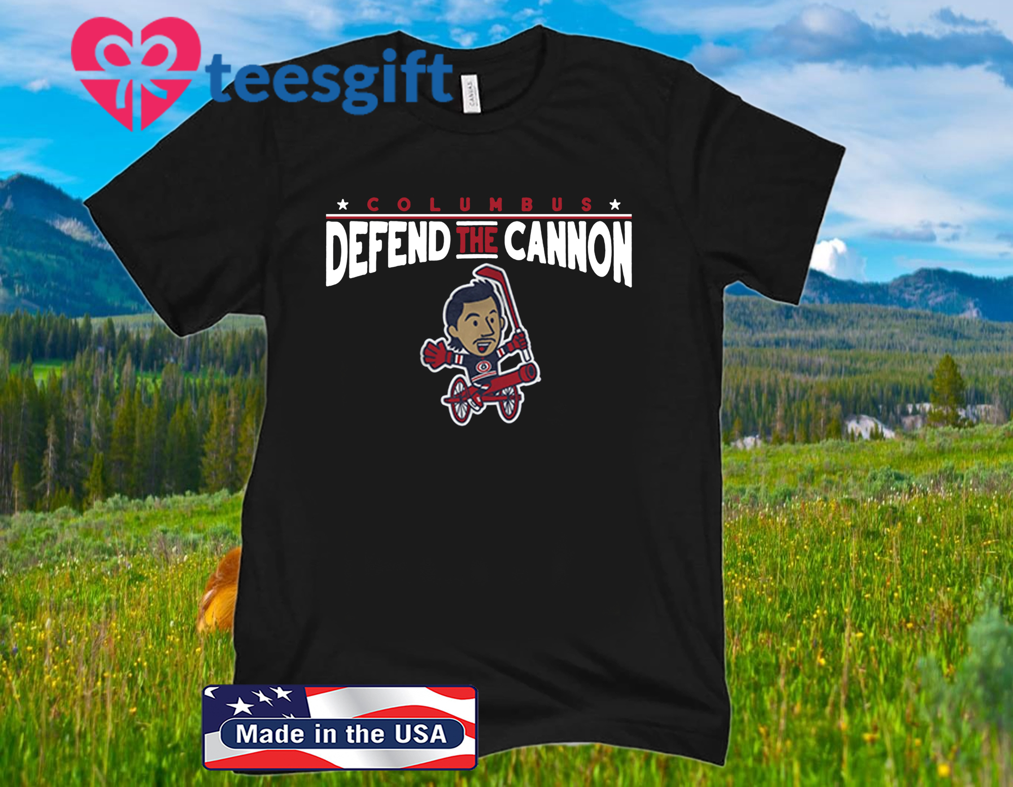 Defend the Cannon Shirt - Licensed by Zach Werenski