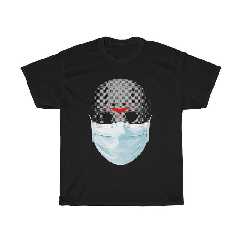 Face Mask Funny Horror Movie TShirt