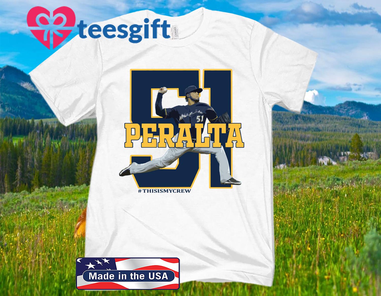 Fastball Freddy Peralta 2020 Shirt Milwaukee