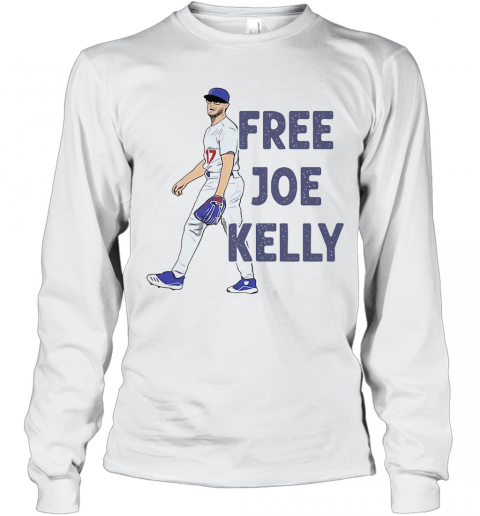Free Joe Kelly T-Shirt Long Sleeved T-shirt