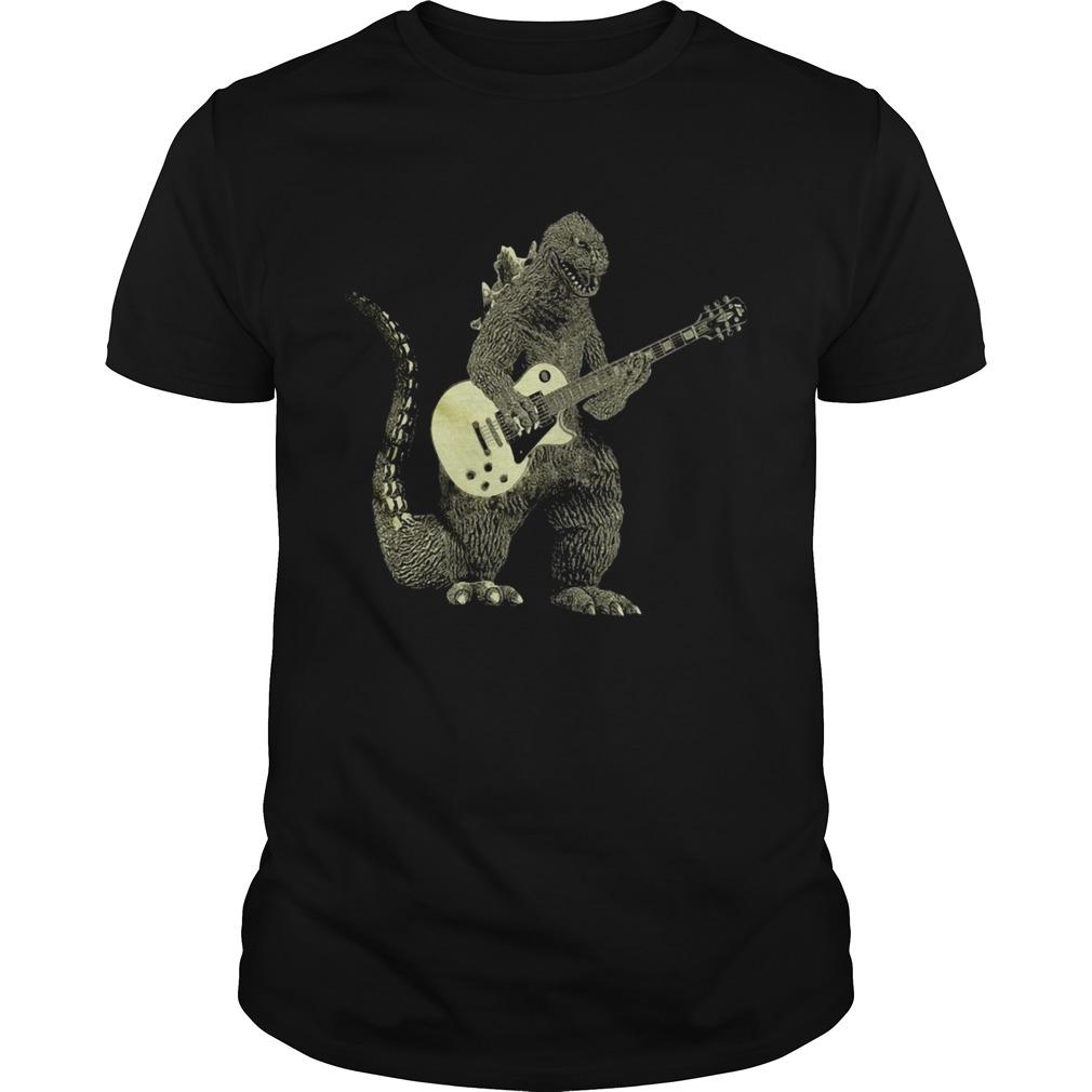 Godzilla Playing Guitar  Unisex