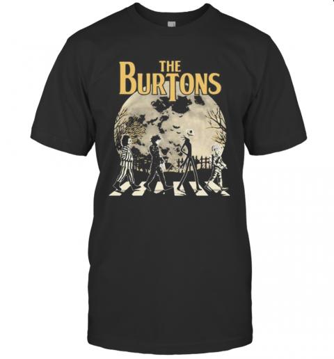 Halloween Horror Characters Crossing The Line T-Shirt Classic Men's T-shirt