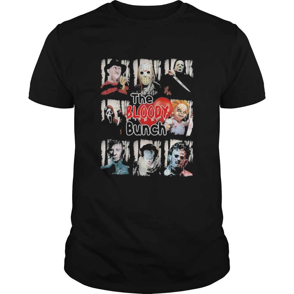 Halloween horror characters the bloody bunch  Unisex