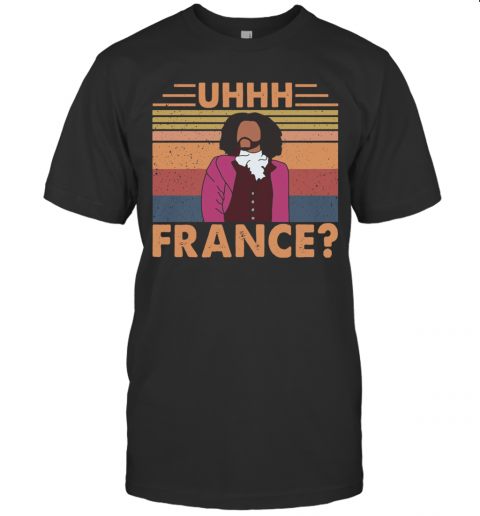 Hamilton Uhhh France Vintage T-Shirt Classic Men's T-shirt