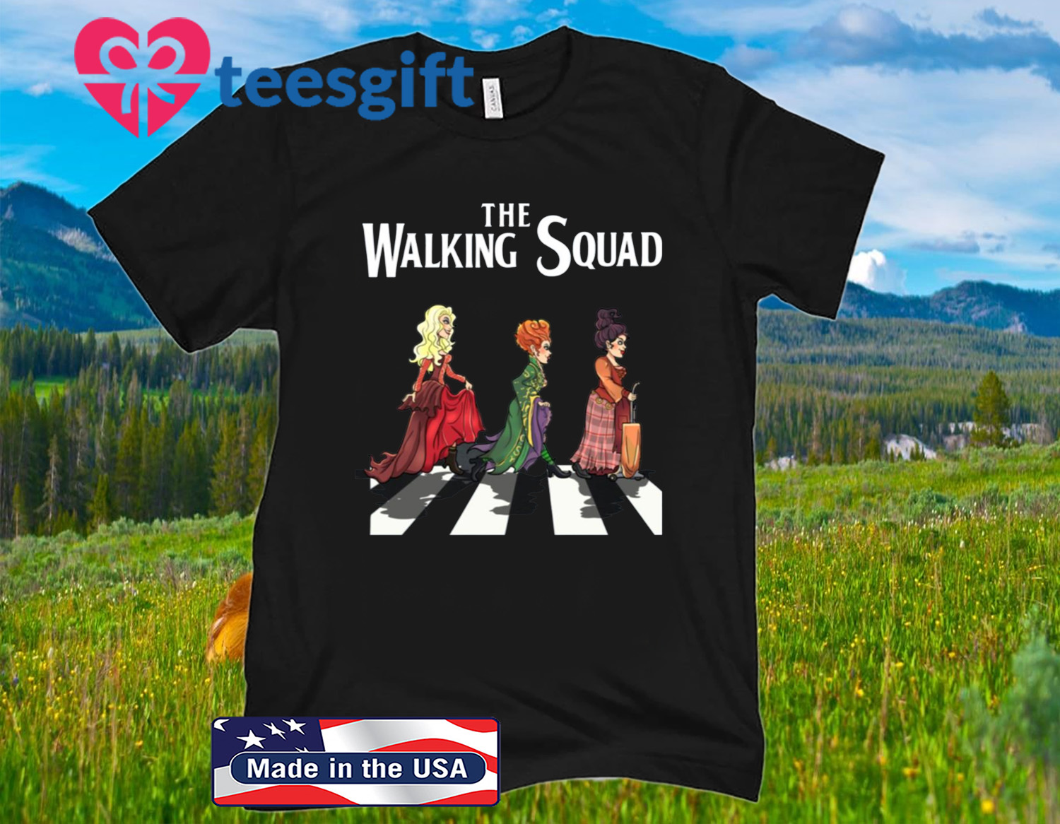 Hocus Pocus The Walking Squad Halloween T-Shirt