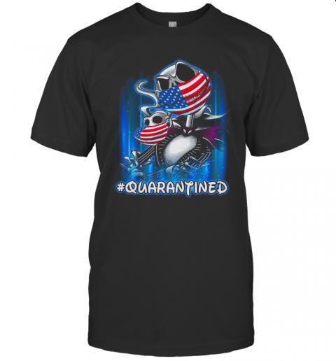 Jack Skellington And Zero Masked #Quarantined T-Shirt Classic Men's T-shirt