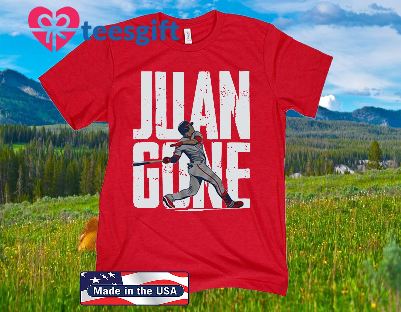 Juan Soto Shirt - Juan Gone, Washington, MLBPA Licensed