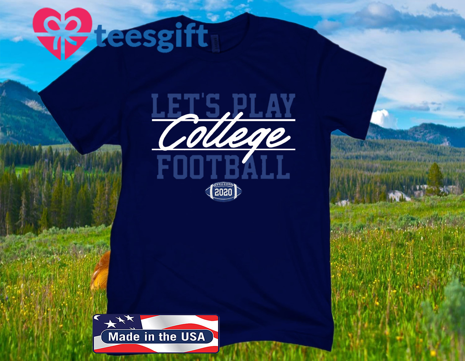 Let's Play College Football Official T-Shirt
