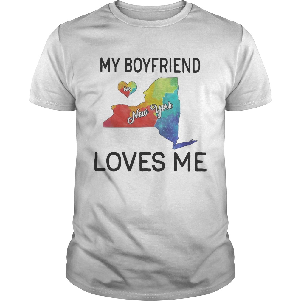 Lgbt my boyfriend in new york loves me  Unisex