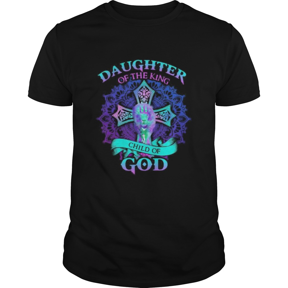 Lion daughter of the king child of god  Unisex