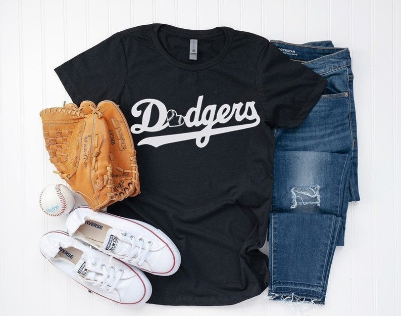 Los Angeles Dodgers Tee Dodgers Baseball Official Family
