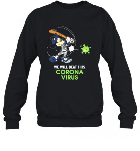 Mickey Mouse New York Giants Baseball We Will Beat This Corona Virus T-Shirt Unisex Sweatshirt