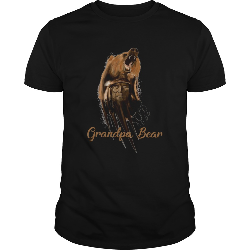 Native American Grandpa Bear  Unisex