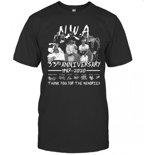 Nwa 33Rd Anniversary T-Shirt Classic Men's T-shirt