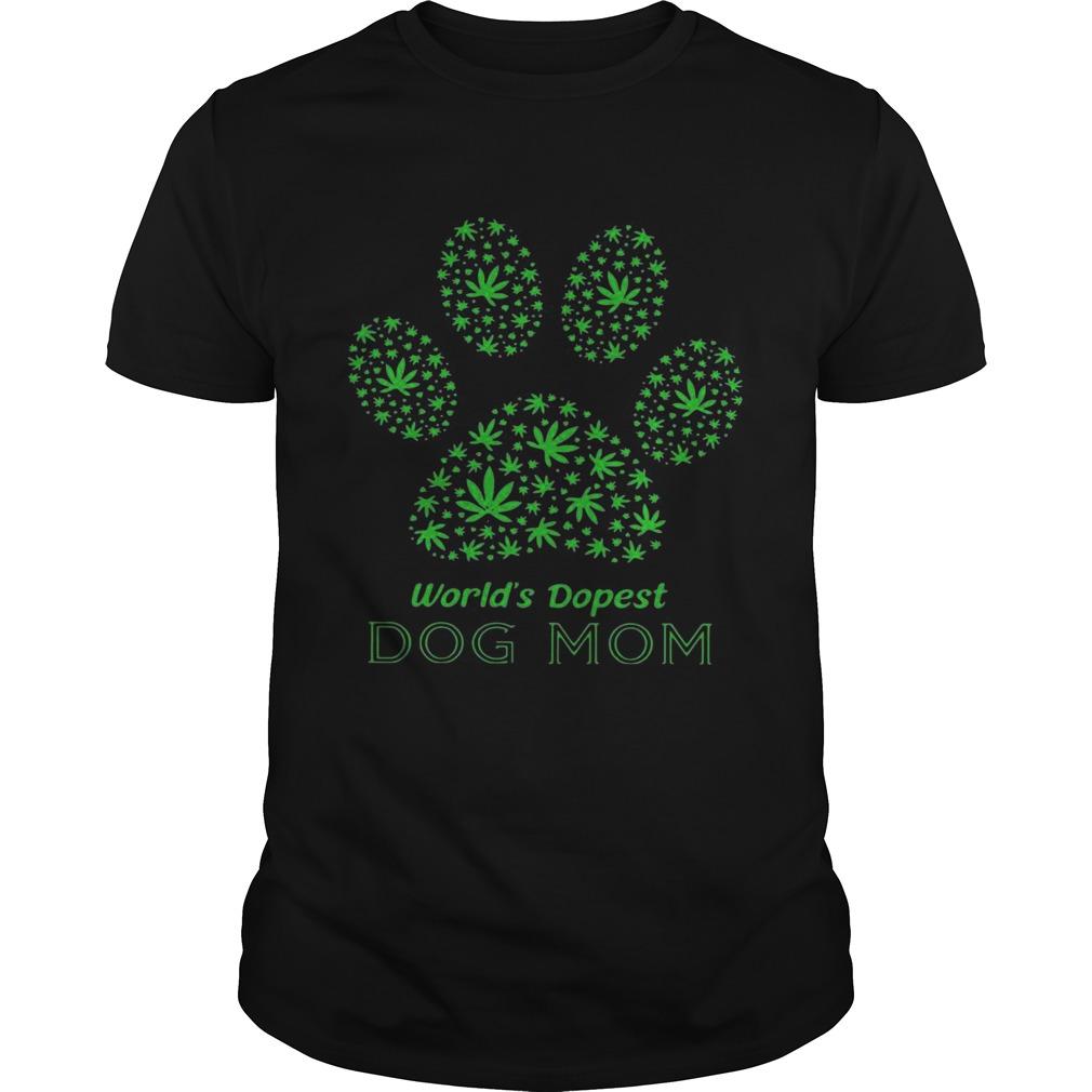 Paw Worlds Dopest Dog Mom  Unisex
