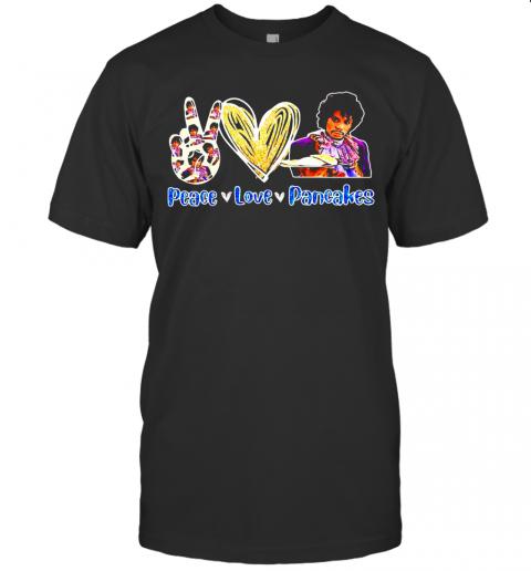Peace Love Pancakes Diamond T-Shirt Classic Men's T-shirt