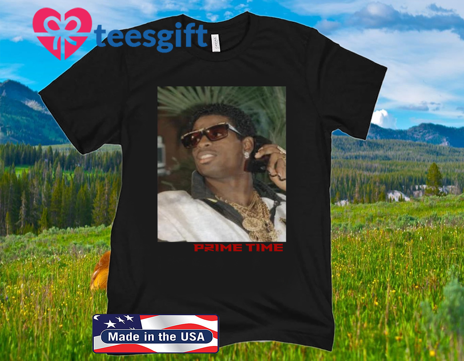 PRIME TIME PICTURE TEE SHIRT