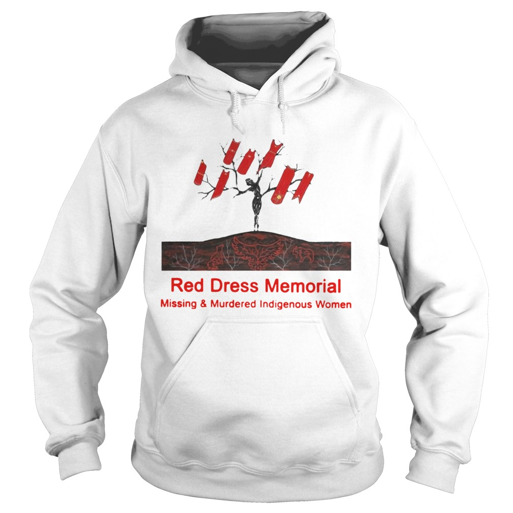 Red Dress Memorial Missing And Murdered Indigenous Women  Hoodie