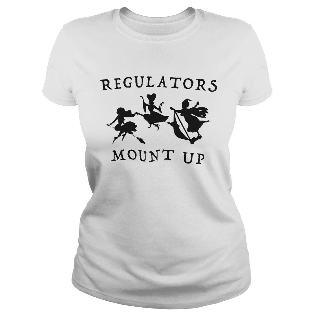 Regulators Mount Up Lady Halloween  Classic Ladies