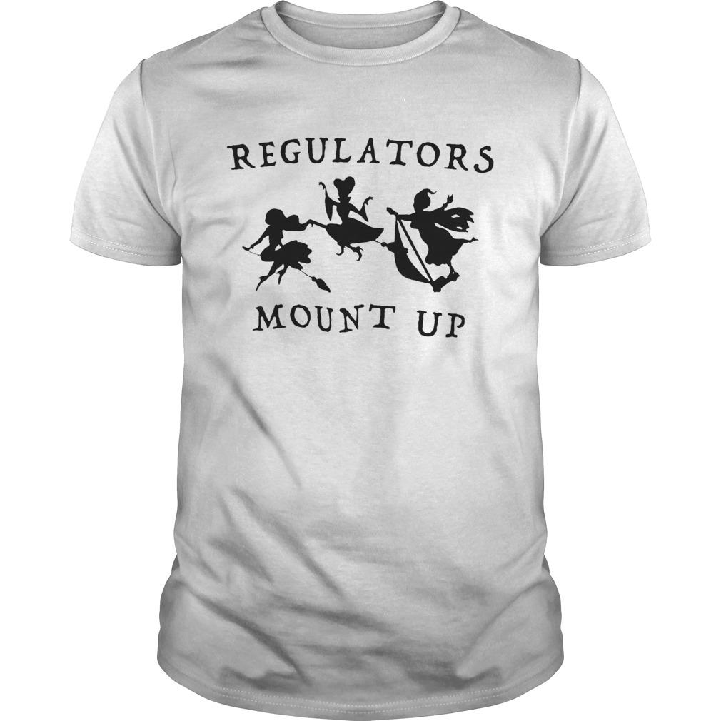 Regulators Mount Up Lady Halloween  Unisex