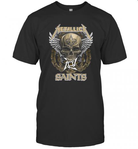 Skull Metallic Saints T-Shirt Classic Men's T-shirt