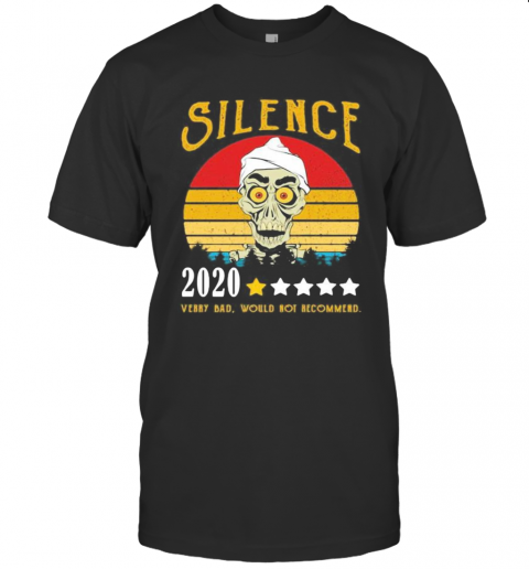 Skull Silence 2020 Very Bad Would Not Recommend Vintage Retro Stars T-Shirt Classic Men's T-shirt