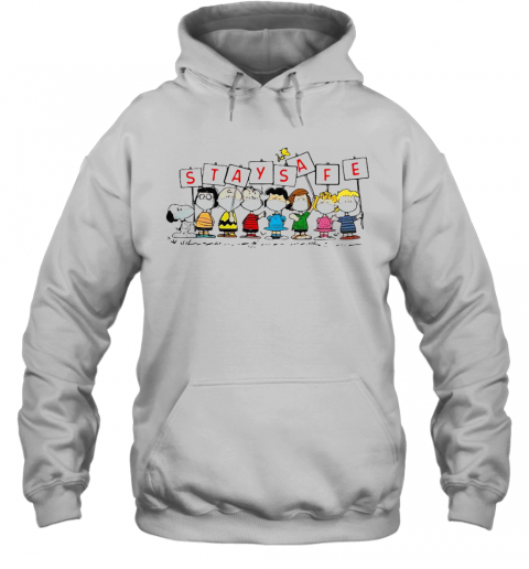 Snoopy And Friends Stay Safe T-Shirt Unisex Hoodie