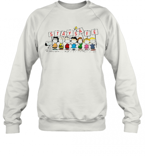 Snoopy And Friends Stay Safe T-Shirt Unisex Sweatshirt