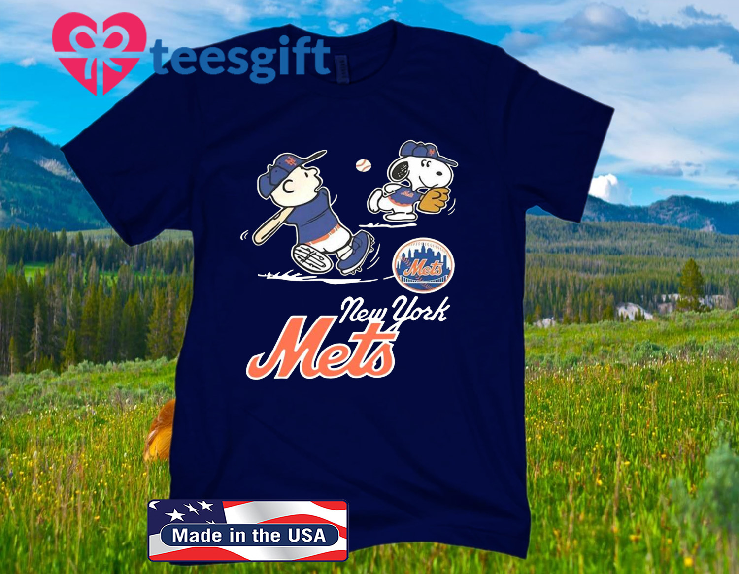 Snoopy Play Baseball New York Mets 2020 Shirts