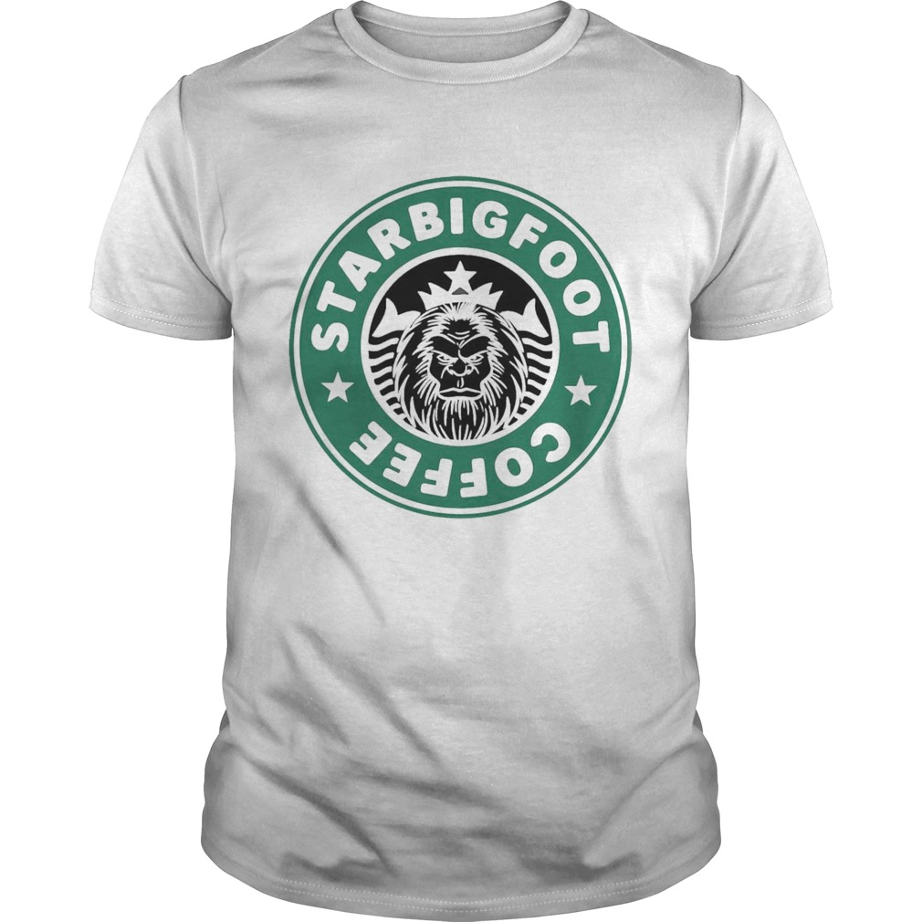 Starbucks Bigfoot Coffee Logo  Unisex
