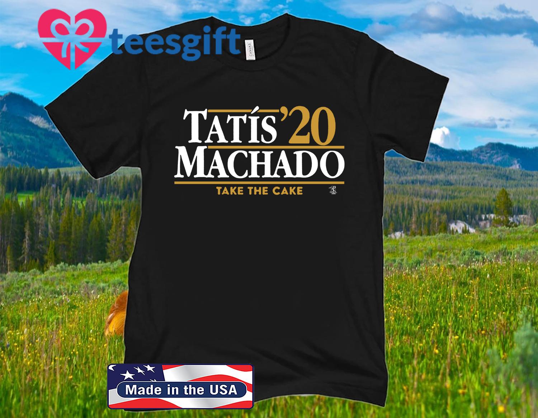 Tatís Machado 2020 Shirt San Diego - MLBPA Licensed