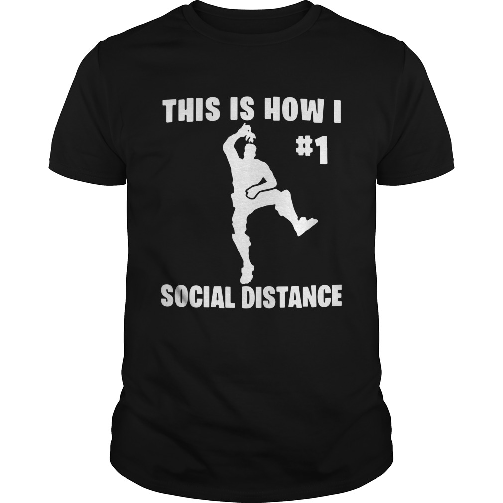 The Elf This Is How I 1 Social Distance  Unisex