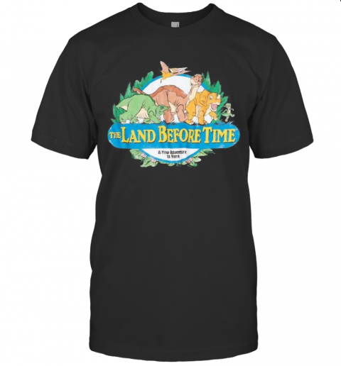 The Land Before Time A New Adventure Is Born T-Shirt Classic Men's T-shirt