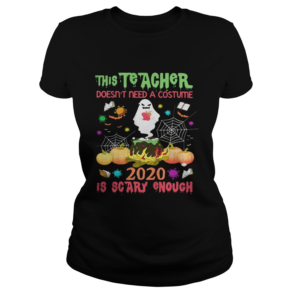 The Teacher Doesnt Need A Costume 2020 Is Scary Enough