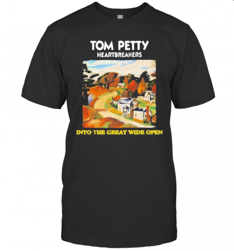 Tom Petty And The Heartbreakers Into The Great Wide Open T-Shirt Classic Men's T-shirt