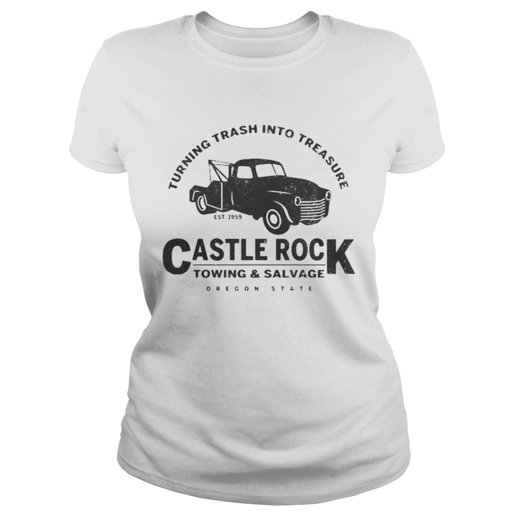 Turning trash into treasure est 1959 castle rock towing and salvage oregon state  Classic Ladies