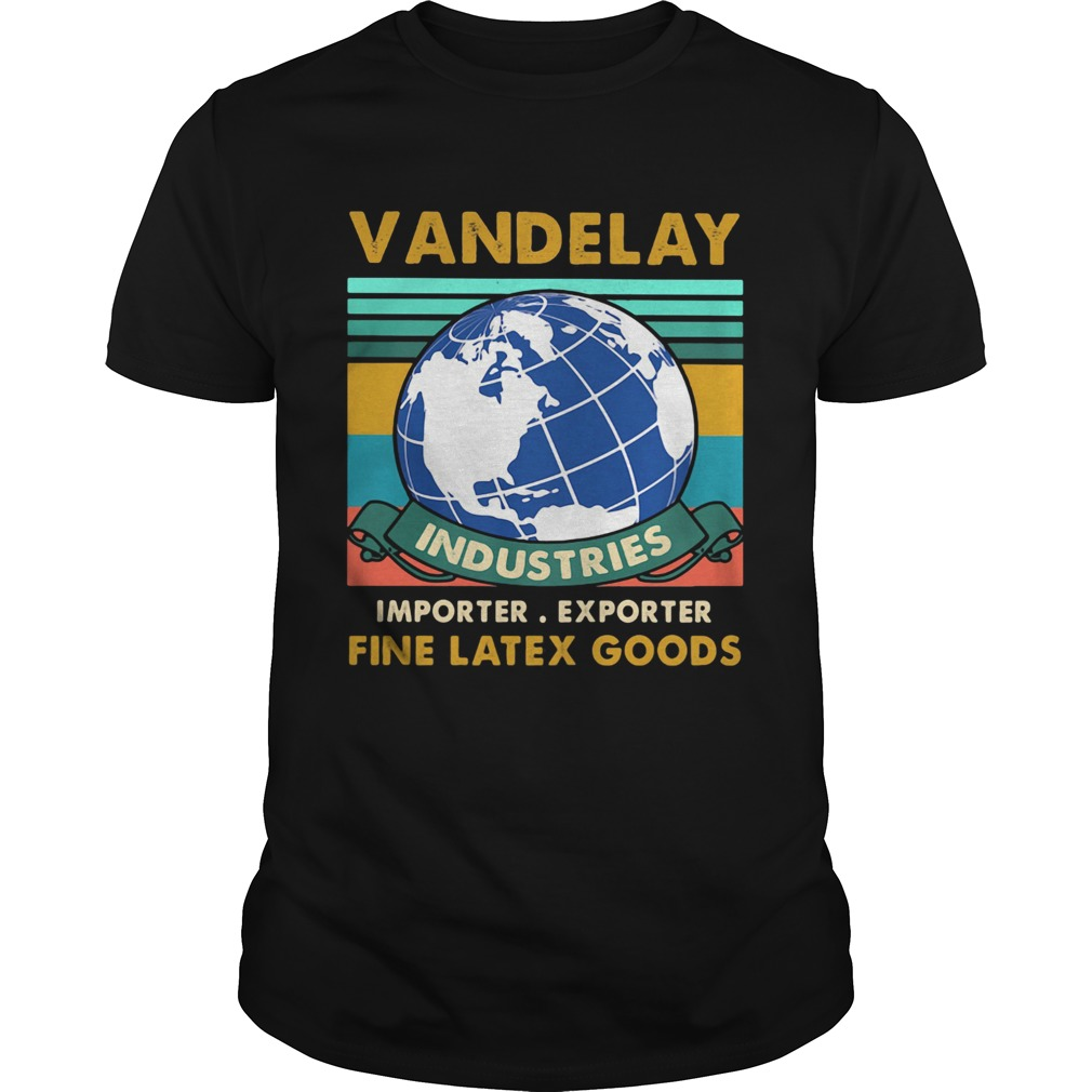 vandelay industries importer exporter fine latex goods vintage retro  Unisex