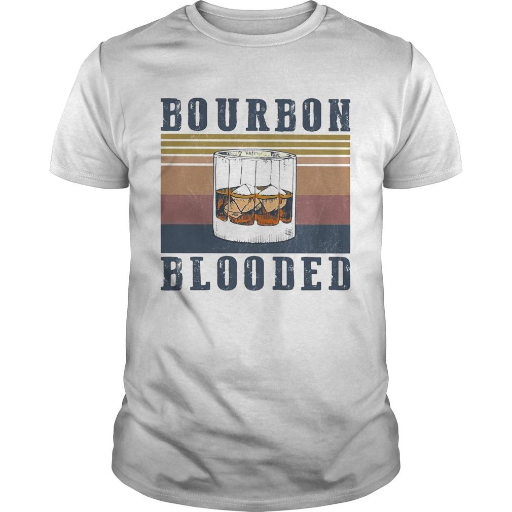 Wine Bourbon Blooded Vintage  Unisex