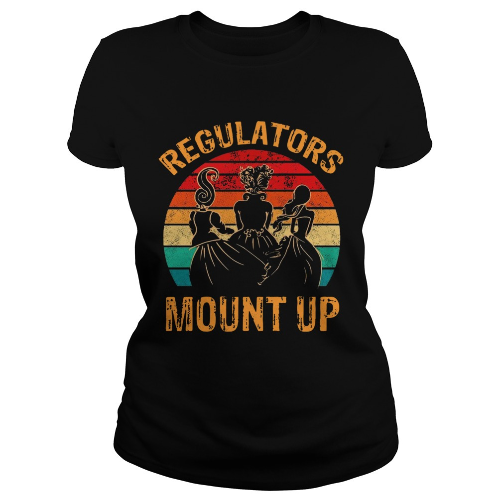 Witch Regulators Mount Up Sunset  Classic Ladies