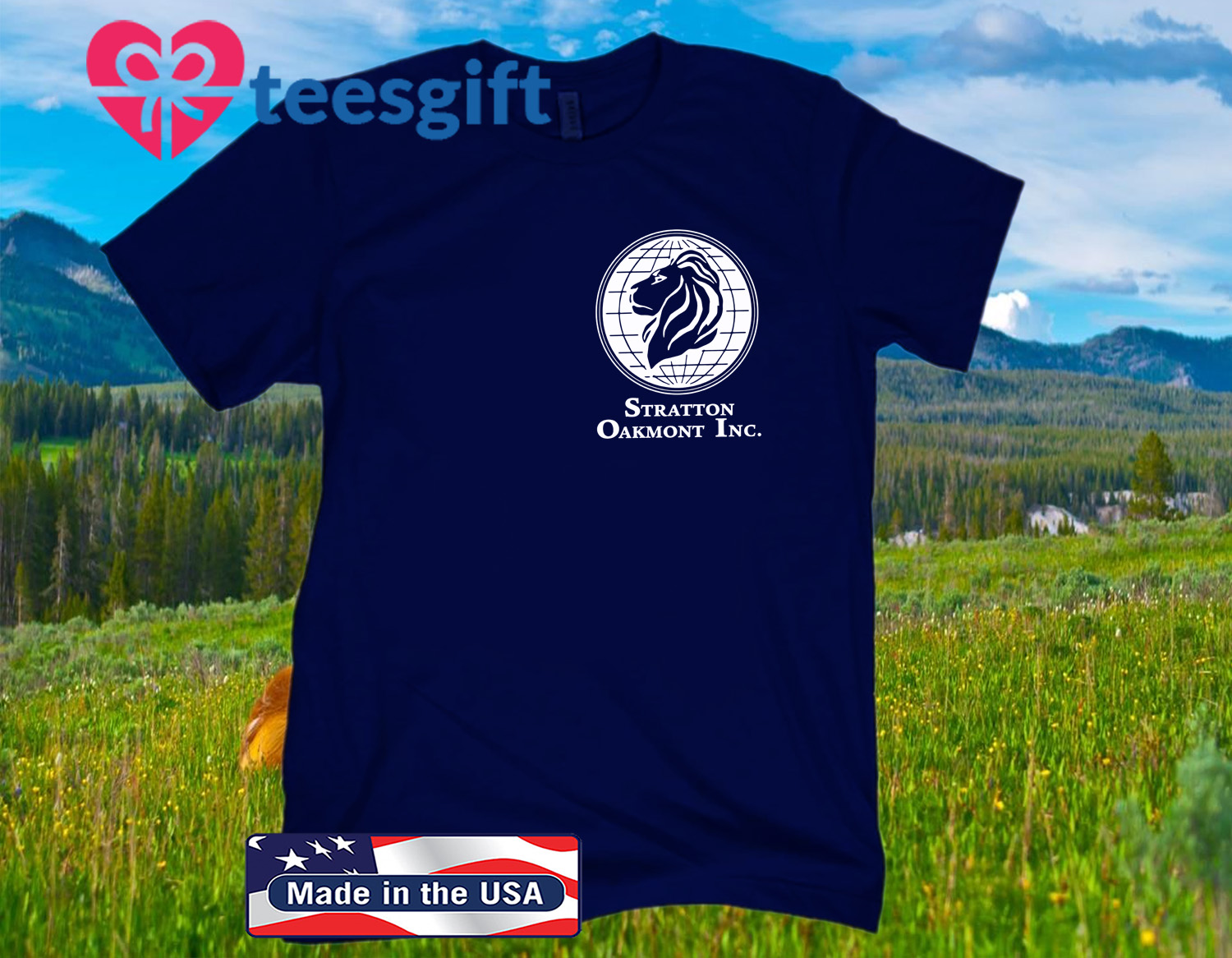 WOLF OF WALL STREET STRATTON OAKMONT OFFICIAL T-SHIRTS