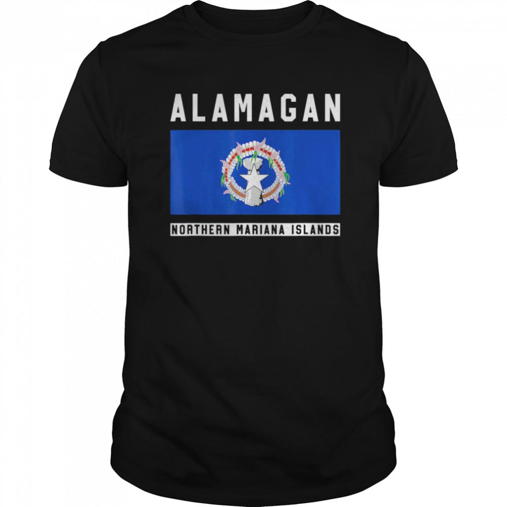 Alamagan Northern Mariana Islands  Classic Men's T-shirt